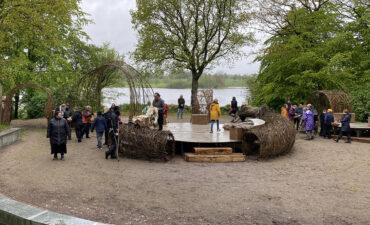 Vikingerne trodsede pinsevejret og skød sæsonen igang